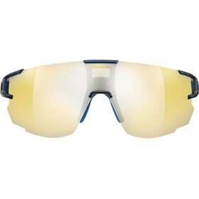 Julbo Aerospeed Zebra Light Sunglasses Translucent Blue/Blue/Yellow-Yellow/Brown